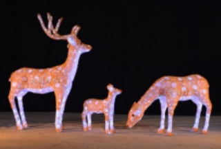 Lampu LED Motif 3D Type 16ZXXL003