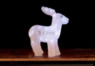 Lampu LED Motif Anak Rusa 3D