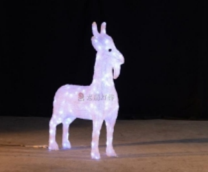 Lampu LED Motif Kambing 3D
