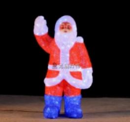 Lampu LED Motif Santa 3D