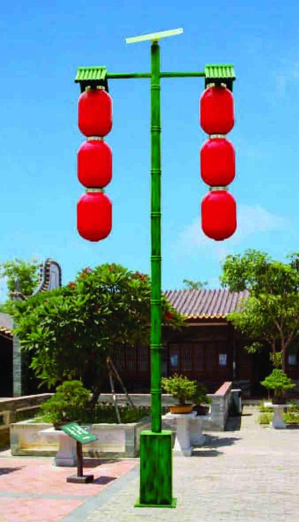 Lampu Taman Tenaga Surya Type 9405