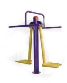 Peralatan Fitness Taman GCJT17-6802