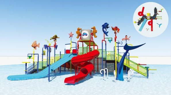 Water Park GCT-8197A