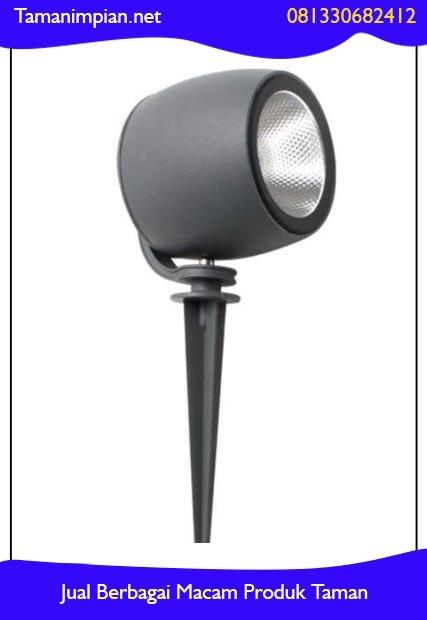 Desain lampu sorot taman-