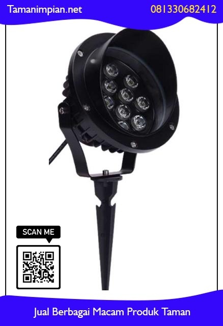Harga lampu sorot taman anti air