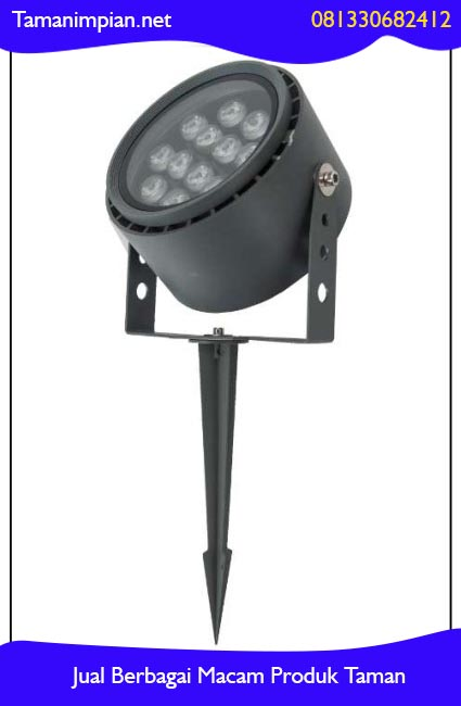 memasang lampu sorot taman surabaya