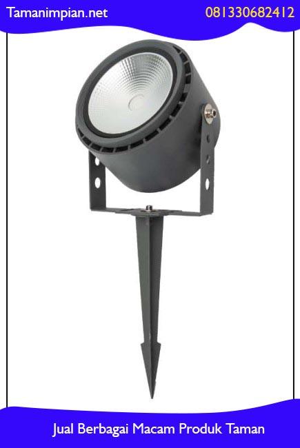 model lampu sorot taman